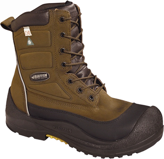 "Men's Baffin 8"" Composite Toe Insulated Metal Free Work Boot IREB-MP03-BR1"