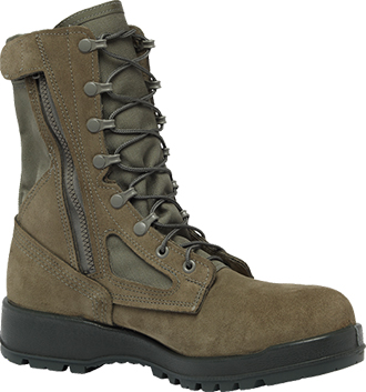 "Men's Belleville 8"" Composite Toe Side-Zipper Military Boot (U.S.A.) 639ZCT"