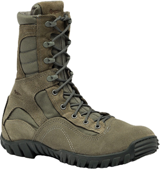 "Men's Belleville 8"" Steel Toe Military Boot (U.S.A.) 633ST"
