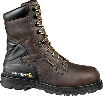 "Men's Carhartt 8"" Steel Toe WP/Insulated Work Boot CMW8239"