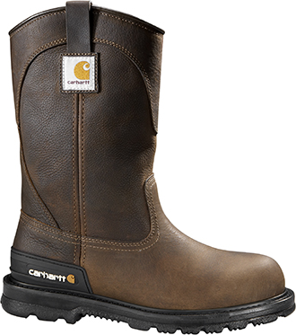 "Men's Carhartt 11"" Steel Toe WP Wellington Work Boot CMU1242"