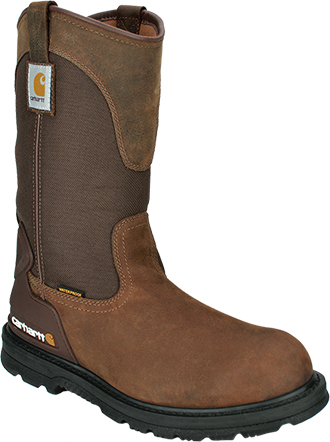 "Men's Carhartt 11"" Steel Toe WP Wellington Boot CMP1200 - Was $174.99"