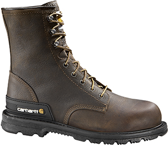 "Men's Carhartt 8"" Steel Toe WP Work Boot CMU8242"