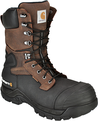 "Men's Carhartt 10"" Composite Toe WP/Insulated Work Boot CMC1259"
