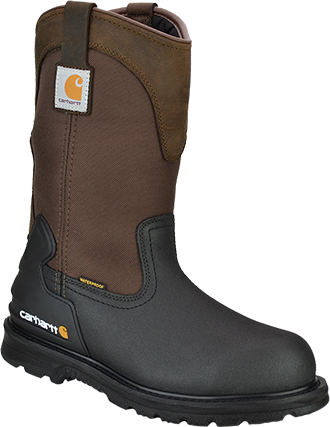 "Men's Carhartt 11"" Steel Toe WP/Insulated Wellington Work Boot CMP1259"