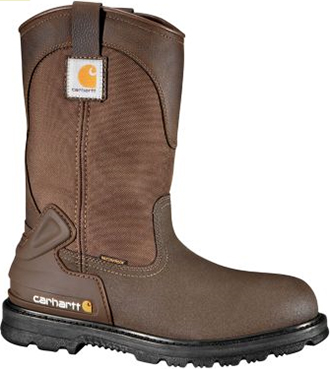 "Men's Carhartt 11"" Steel Toe WP Wellington Work Boot CMP1270"
