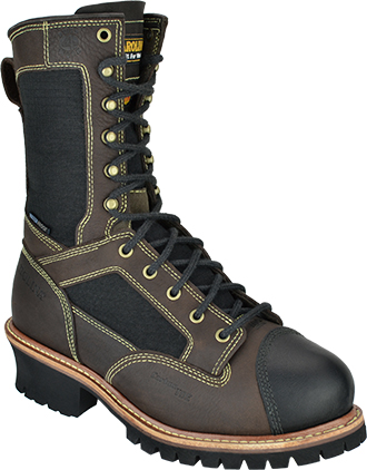 "Men's Carolina 10"" Composite Toe Metguard WP Work Boot FR1502"