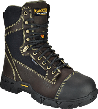 "Men's Carolina 8"" Composite Toe Metguard WP Work Boot FR1500"