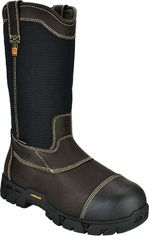"Men's Carolina 12"" Composite Toe Metguard WP Wellington Work Boot FR1501"