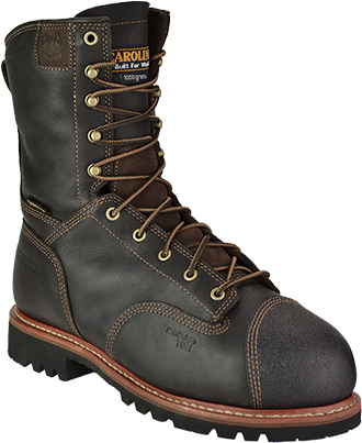 "Men's Carolina 10"" Composite Toe WP/Insulated Metguard Work Boot CA7535"