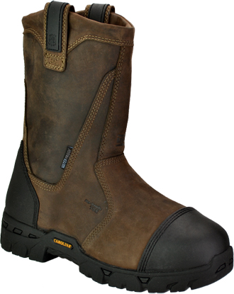 "Men's Carolina 11"" Composite Toe WP Wellington Metguard Work Boot CA7533"