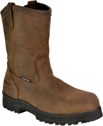 "Men's Carolina 11"" Composite Toe WP Wellington Work Boot CA2533"