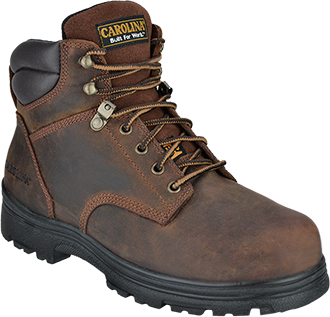 "Men's Carolina 6"" Steel Toe Metguard Work Boot CA3527"