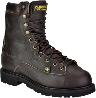 "Men's Carolina 8"" Steel Toe Metguard Work Boot (U.S.A.) CA605"