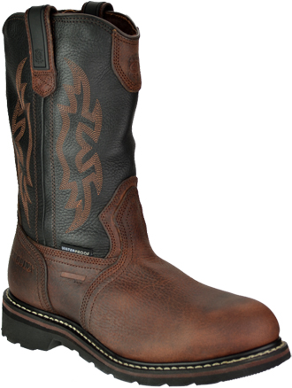 "Men's Carolina 12"" Steel Toe WP Wellington Work Boot CA2531"
