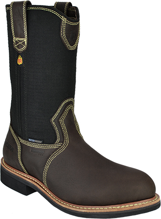 "Men's Carolina 11"" Aluminum Toe WP Wellington Work Boot FR1503"