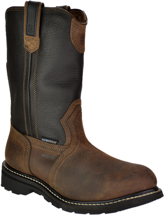 Men's Carolina Aluminum Toe WP Wellington Work Boot CA2530