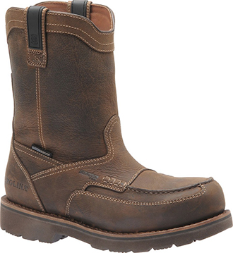 Men's Carolina Aluminum Toe WP Wellington Work Boot CA8534