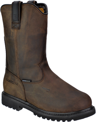 "Men's Carolina 12"" Steel Toe WP Wellington Metguard Work Boot CA8533"