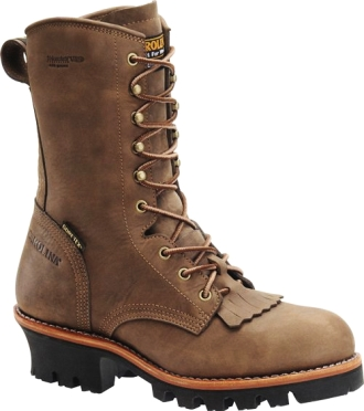 "Men's Carolina 10"" Steel Toe Insulated Logger Work Boot CA7519"