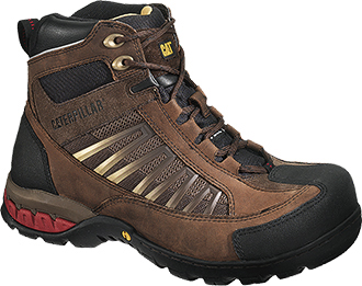 "Men's Caterpillar 5.5"" Steel Toe WP Hiker Work Boot P90185"
