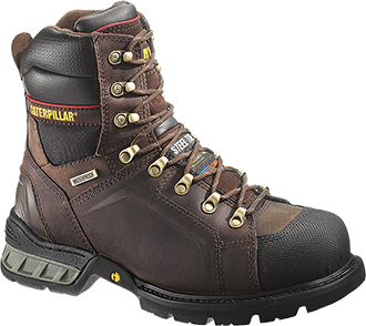 "Men's Caterpillar 8"" Steel Toe WP/Insulated Work Boot P90158"