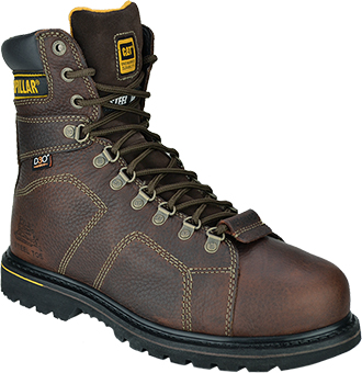 "Men's Caterpillar 8"" Steel Toe Metguard Work Boots P89967"