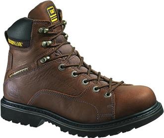 """Men's Caterpillar 6"""" Steel Toe WP Work Boot P89904"""