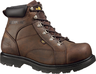 "Men's Caterpillar 6"" Steel Toe Work Boot P89595"