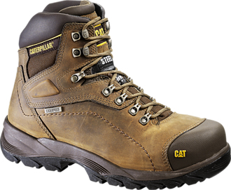 "Men's Caterpillar 6"" Steel Toe WP/Insulated Work Boot P89940"