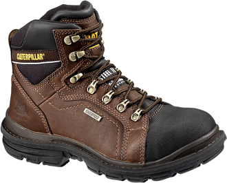 "Men's Caterpillar 6"" Steel Toe WP Work Boot P89981"