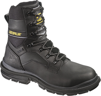 "Men's Caterpillar 8"" Steel Toe WP Work Boot P89987"