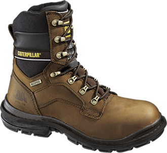"Men's Caterpillar 8"" Steel Toe WP Work Boot P89988"