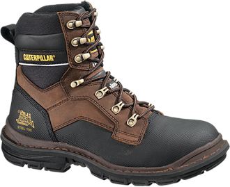 "Men's Caterpillar 8"" Steel Toe WP Work Boot P90014"