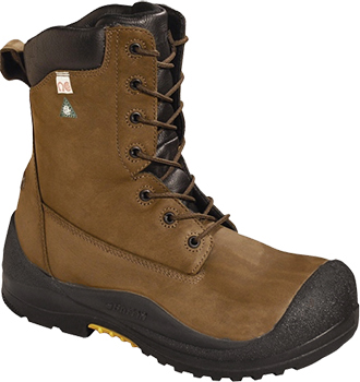 "Men's Baffin 8"" Composite Toe Insulated Metal Free Work Boot IREB-MP01-BR1"