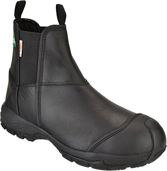 "Men's Dawgs 6"" Composite Toe Pull-On Work Boot DAWGS-CTL6IPOSB-Black"