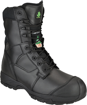 "Men's Dawgs 8"" Composite Toe WP Work Boot DAWGS-WPCT8ILSB-Black"