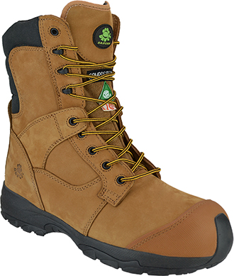 "Men's Dawgs 8"" Composite Toe WP Work Boot DAWGS-WPCT8ILSB-Sand"