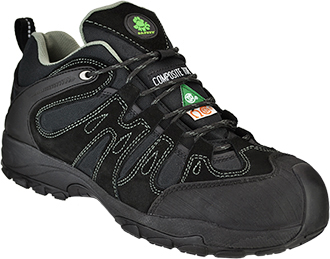 Men's Dawgs Composite Toe Work Shoe DAWGS-CTLN3ISS-Black