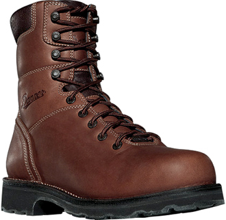 "Men's Danner 8"" Alloy Toe WP Work Boots 16005"