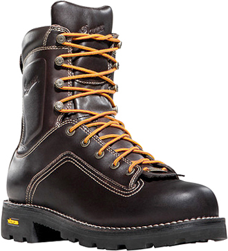 "Men's Danner 8"" Composite Toe WP/Insulated Work Boots 14552"