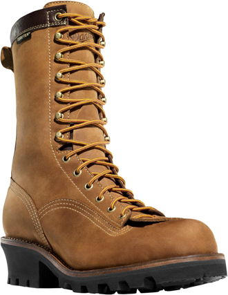"Men's Danner 10"" Steel Toe WP Logger Work Boots 14574"