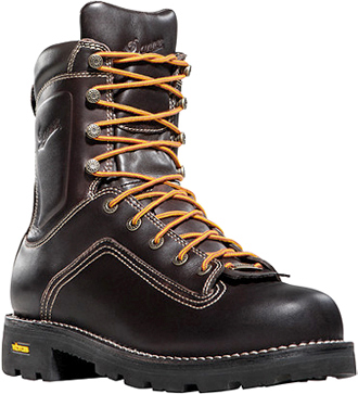 "Men's Danner 8"" Steel Toe WP Work Boots 14548"