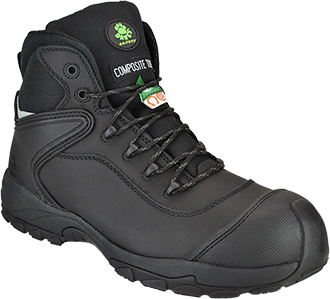 "Men's Dawgs 6"" Composite Toe Work Boot DAWGS-CTL6IASB-Black"