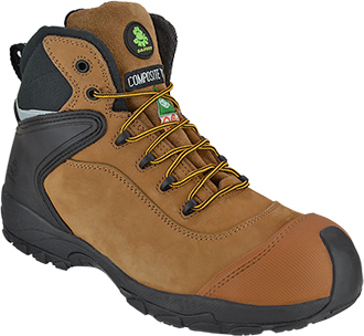 "Men's Dawgs 6"" Composite Toe Work Boot DAWGS-CTL6IASB-Sand"