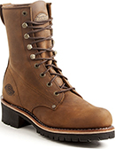 "Men's Dickies 10"" Steel Toe Logger Work Boot DW8222"