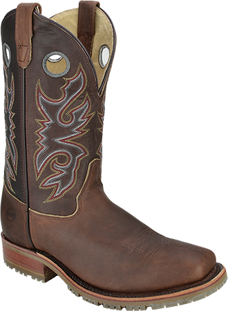 "Men's Double H 11"" Steel Toe Western Boot (U.S.A) DH5404"