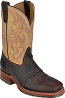 "Men's Double H 11"" Steel Toe Western Boot DH5305 (U.S.A.)"