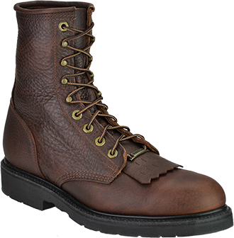 "Men's Double H 8"" Steel Toe Western Boot (U.S.A.) 9814"