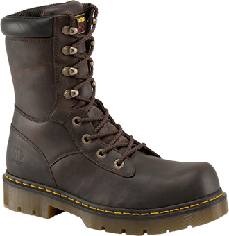 "Men's Dr. Martens Steel 8"" Toe Work Boot R14409200"